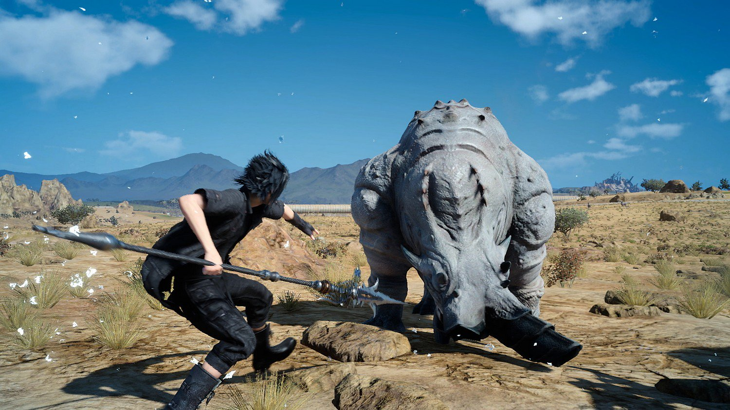 Final Fantasy XV 'Wait Mode' Unveiled