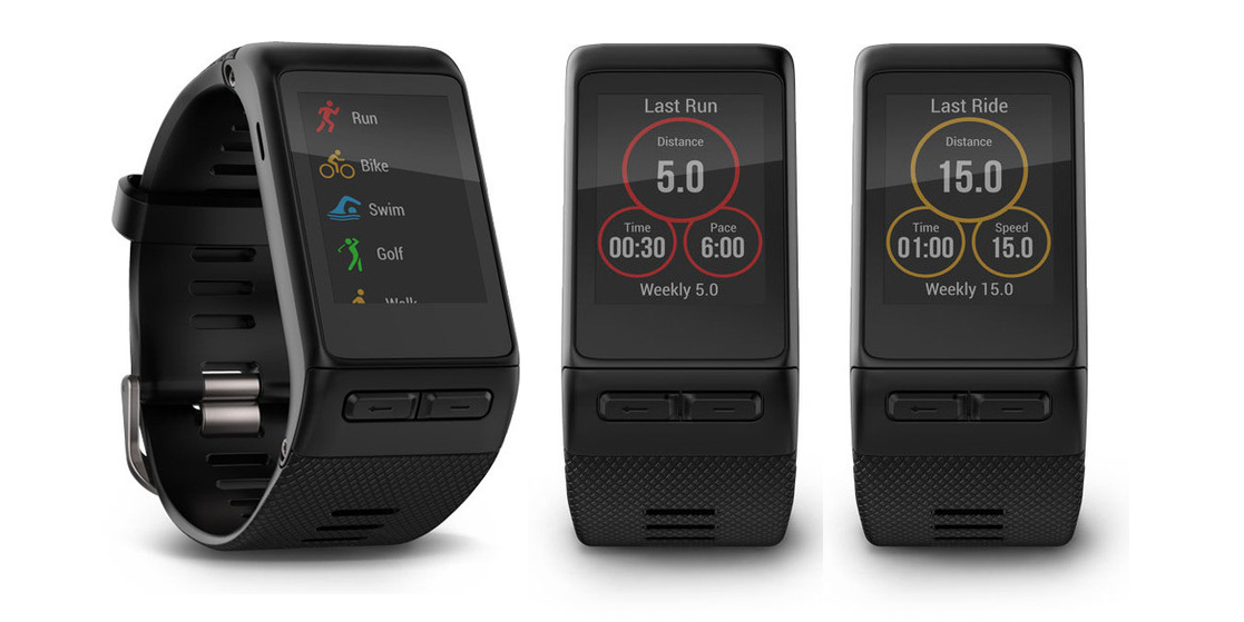 The Garmin Vivoactive HR