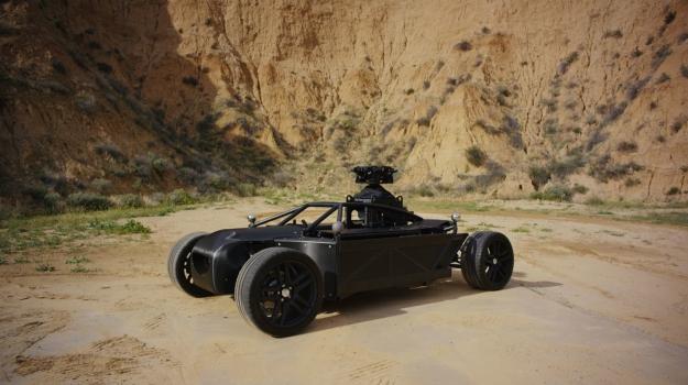 Blackbird Shape-Shifting Vehicle