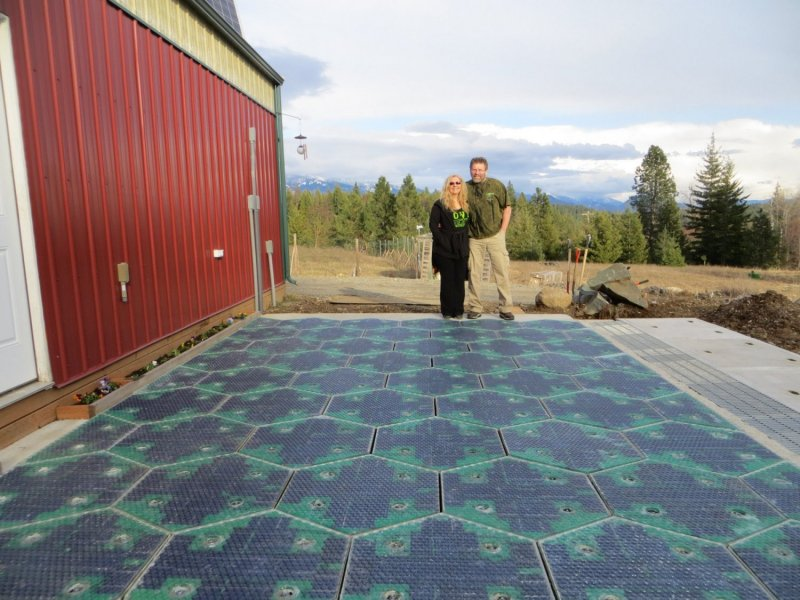 The Solar Roadways