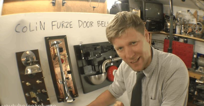 Colin Furze Builds an Loud Doorbell