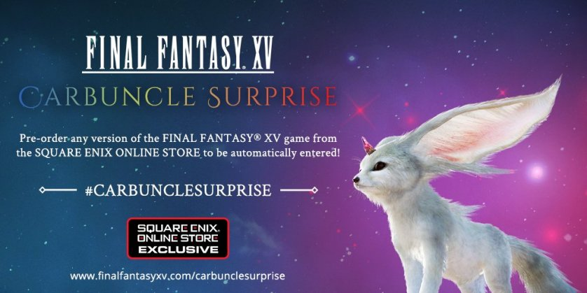 Final Fantasy XV 'Carbuncle Surprise'