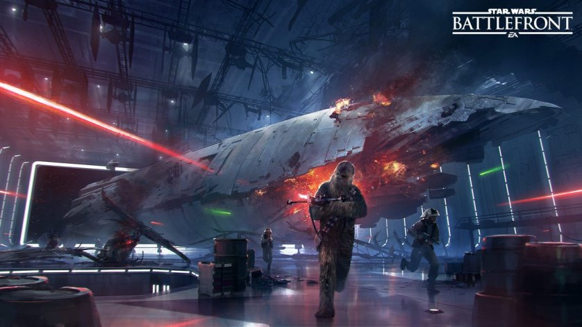 Star Wars Battlefront Death Star DLC