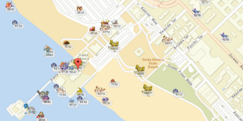 Real-Time Map To Find All Your Pokemon's in Pokémon Go