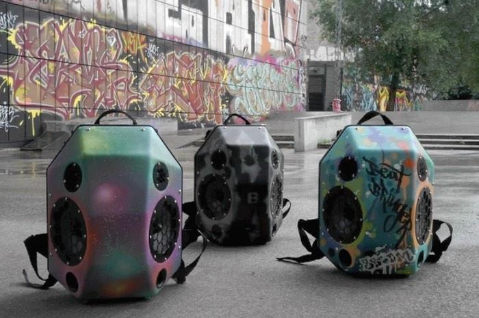 The Speaker Backpack