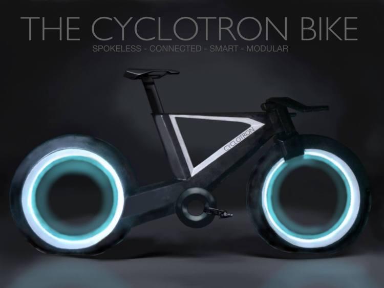 Spokeless Smart Bicycle