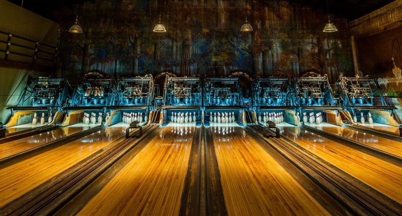 Steampunk Bowling Alley