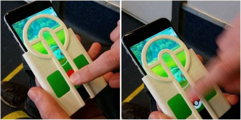3D Printed pokemon go iphone case