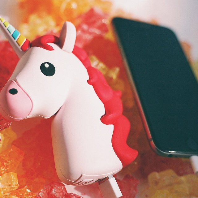 Portable Power Bank in Pink
