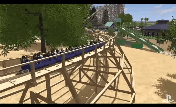 Rollercoaster Dreams on PlayStation VR