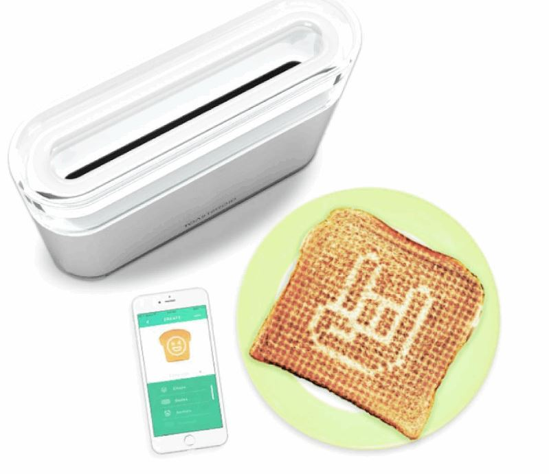 App Controlled Smart Toaster