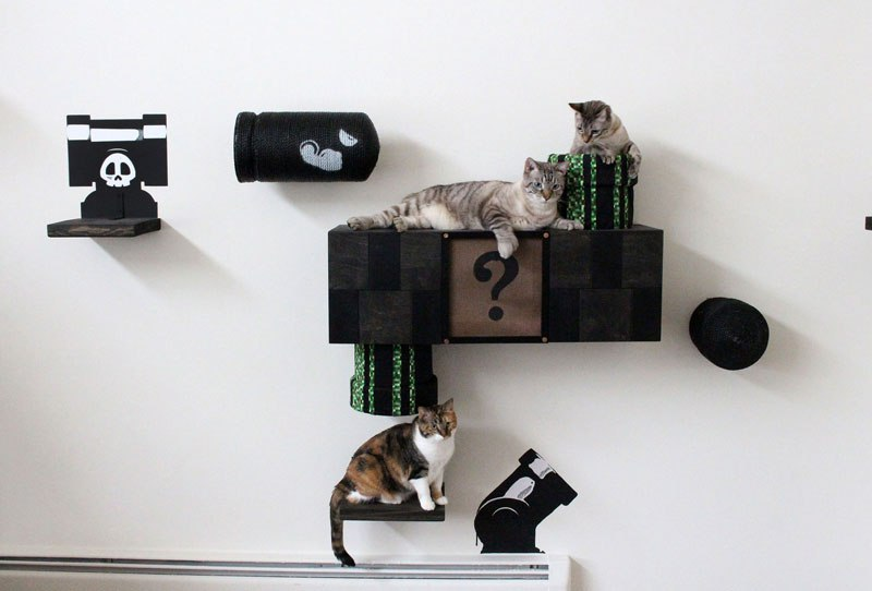 Super Mario Cat Furniture