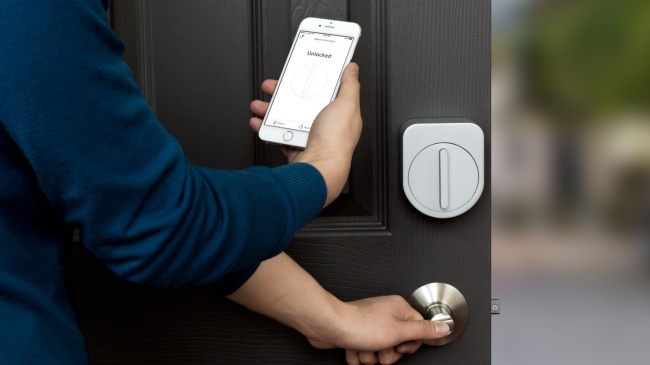 The app that can lock your front door