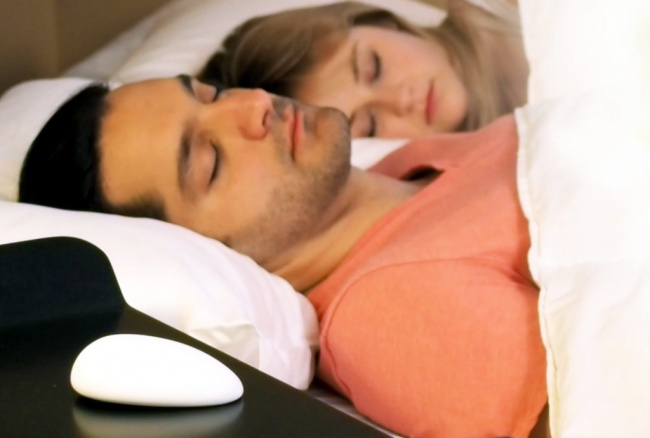 The device which stops you snoring