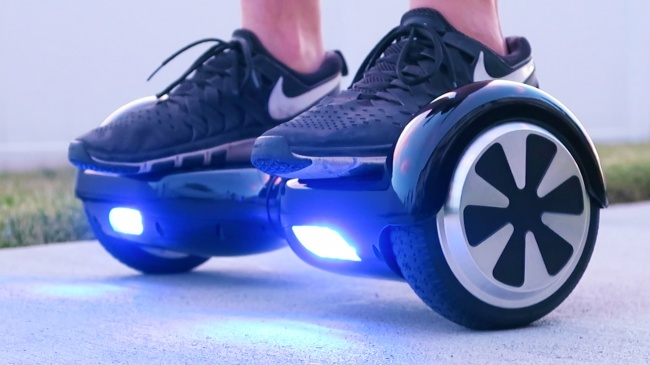 The 'Hoverboard' Scooter