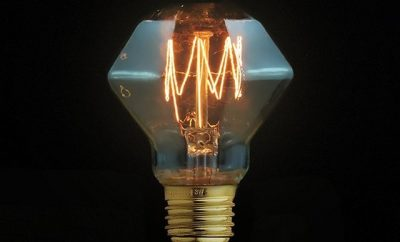 Fancy Diamond Shape Edison Bulb