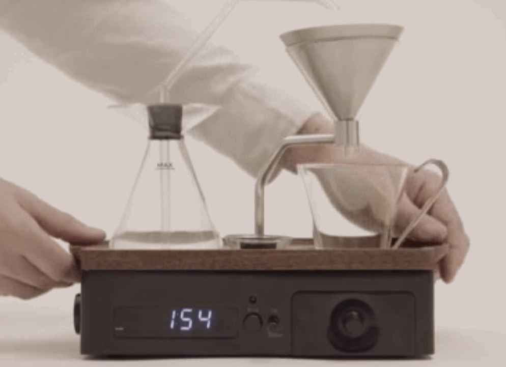 Coffee-Brewing Alarm Clock