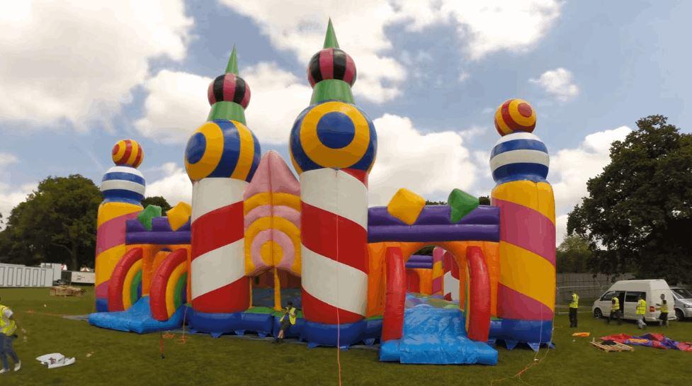 World's Biggest Bouncy Castle