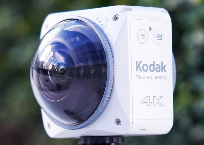 Kodak 4KVR360 Camera