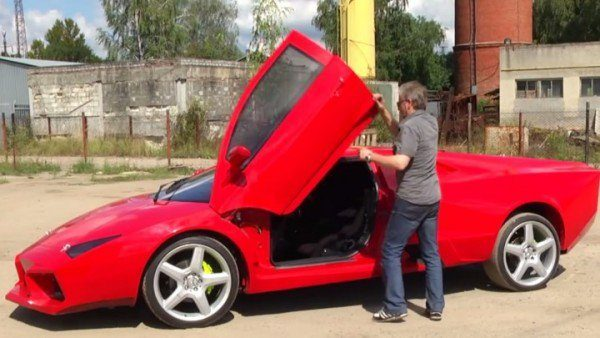 Ukrainian Builds His Own Lamborghini Reventon