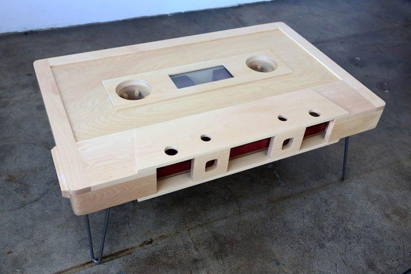 Retro Cassette Tape Coffee Tables
