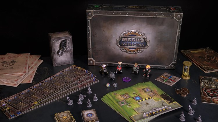 Mechs Vs Minions A Moba Style Board Game Launched Gamengadgets