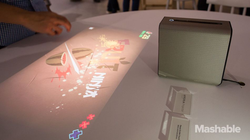 Sony's Xperia Projector