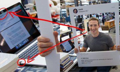 Mark Zuckerberg webcam cover