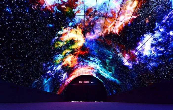 OLED Tunnel At IFA