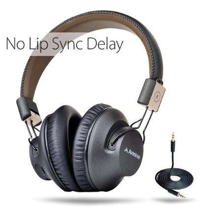 Avantree Wireless Bluetooth Over Ear Headphones