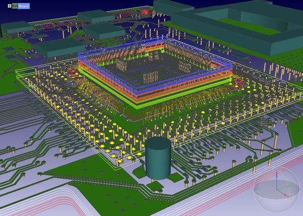 An overview on the production process of PCBs using a PCB design ...