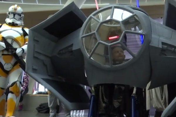 TIE Fighter Wheelchair