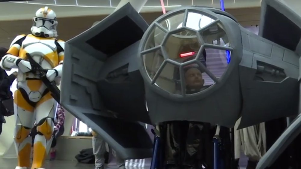 TIE Fighter Wheelchair