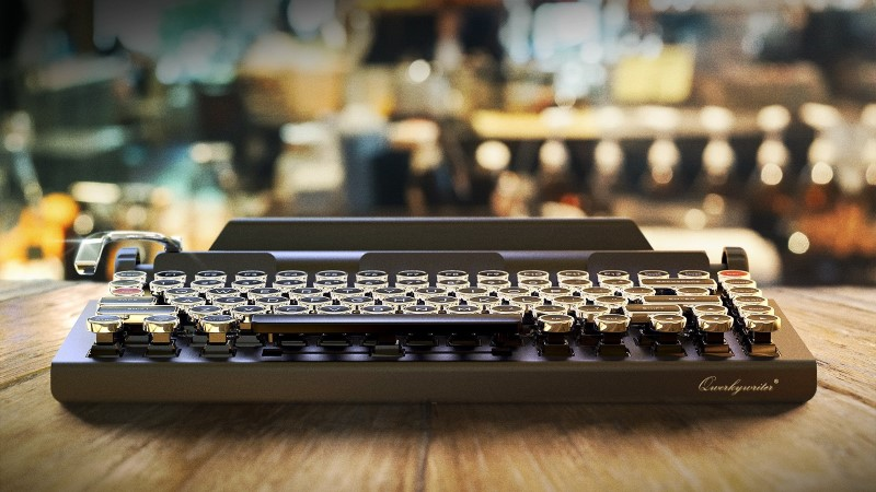 Qwerkywriter Retro Bluetooth Keyboard