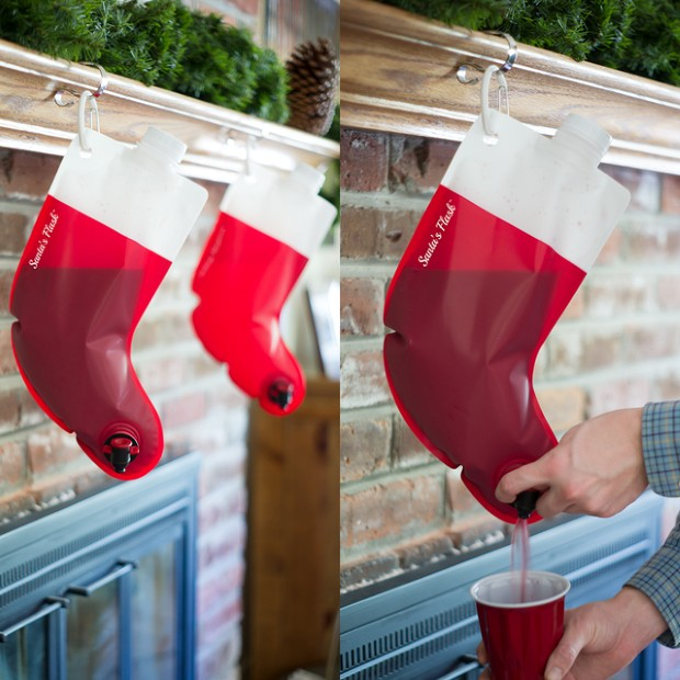 Santa's Flask