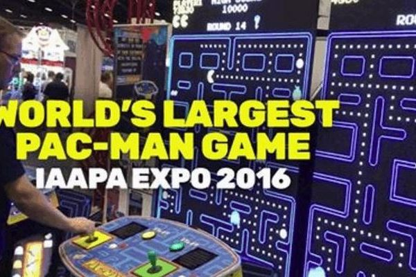 The World's Largest Pac-Man Arcade Machine
