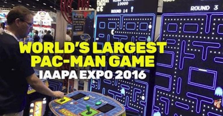 The World's Largest Pac-Man Arcade Machine
