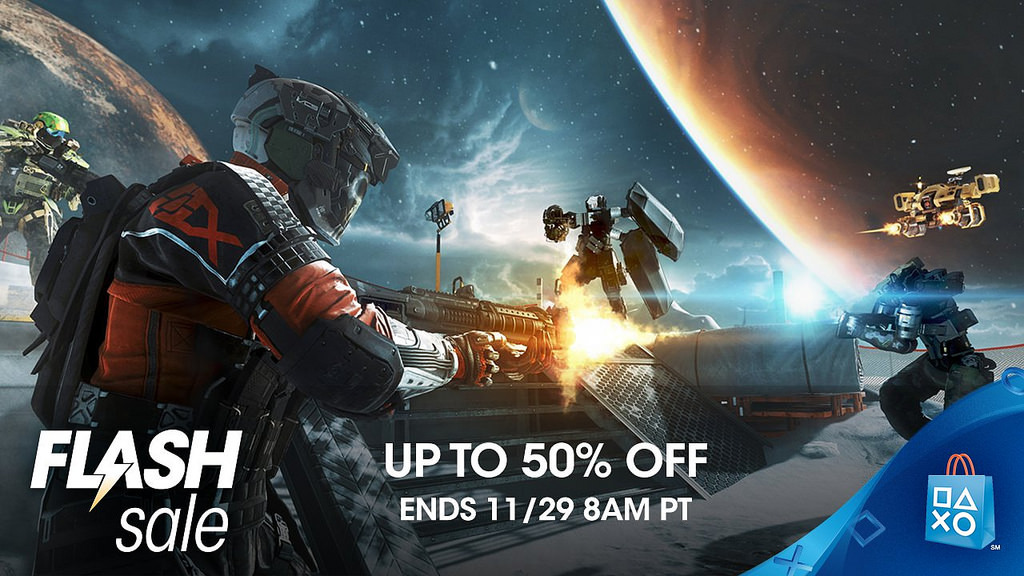 PSN Black Friday Flash Sale