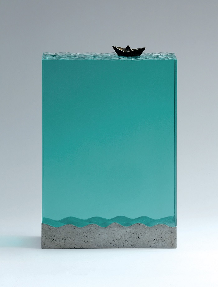 Layered Glass Sculptures