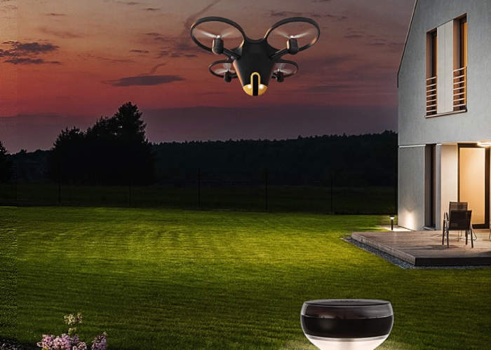 Sunflower Home Security Drone