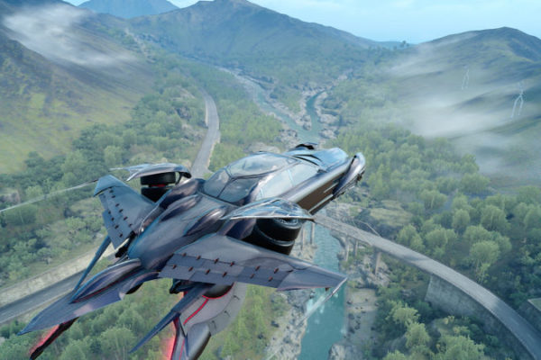 Airship In Final Fantasy XV