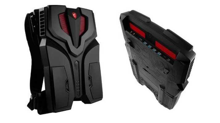 MSI's VR PC Backpack