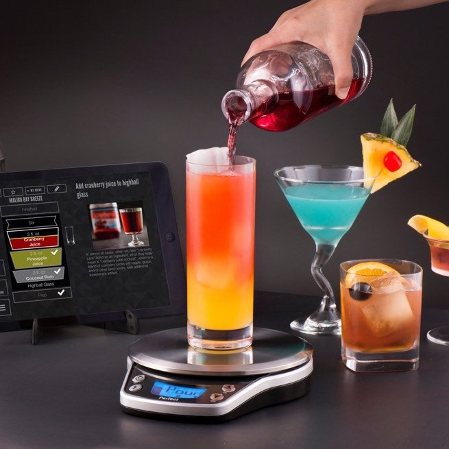Insanely cool perfect drink pro gamengadgets for Perfect drink smart scale