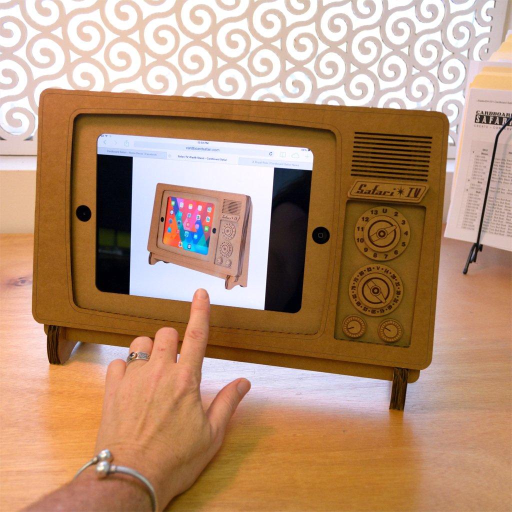 Safari TV iPad Stand
