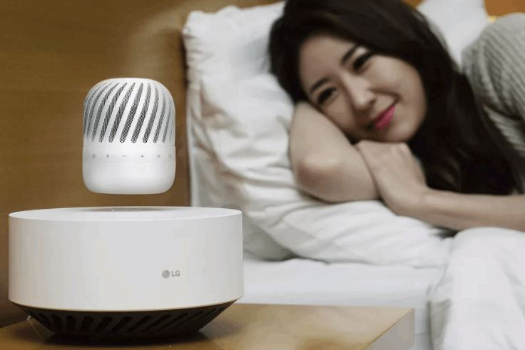 LG's New Levitating Speaker