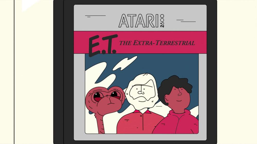 Atari's E.T. Game