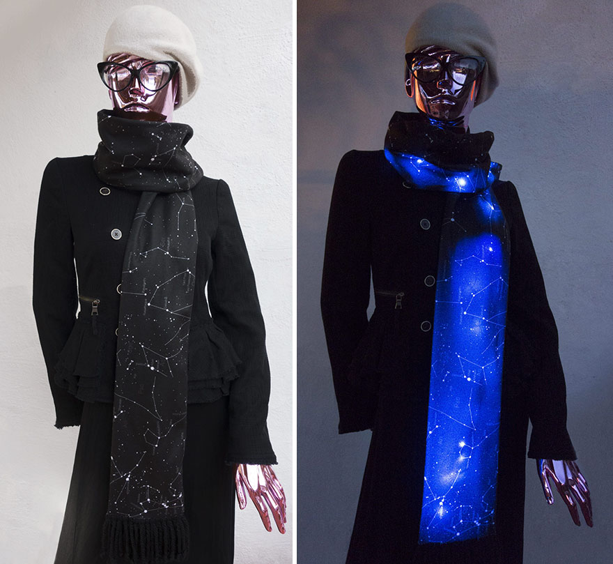 Starry LED Scarf