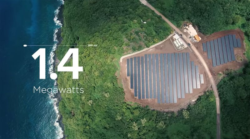 Tesla Powered an Island