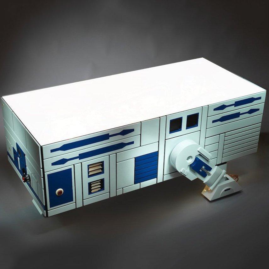 R2D2 Star Wars Coffee Table