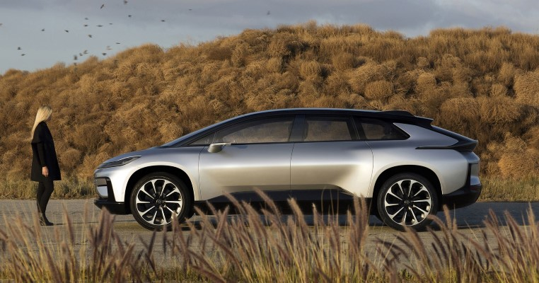 Faraday Future Reveals the FF91 Electric Car